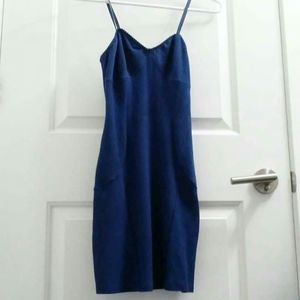 Free People indigo slip small